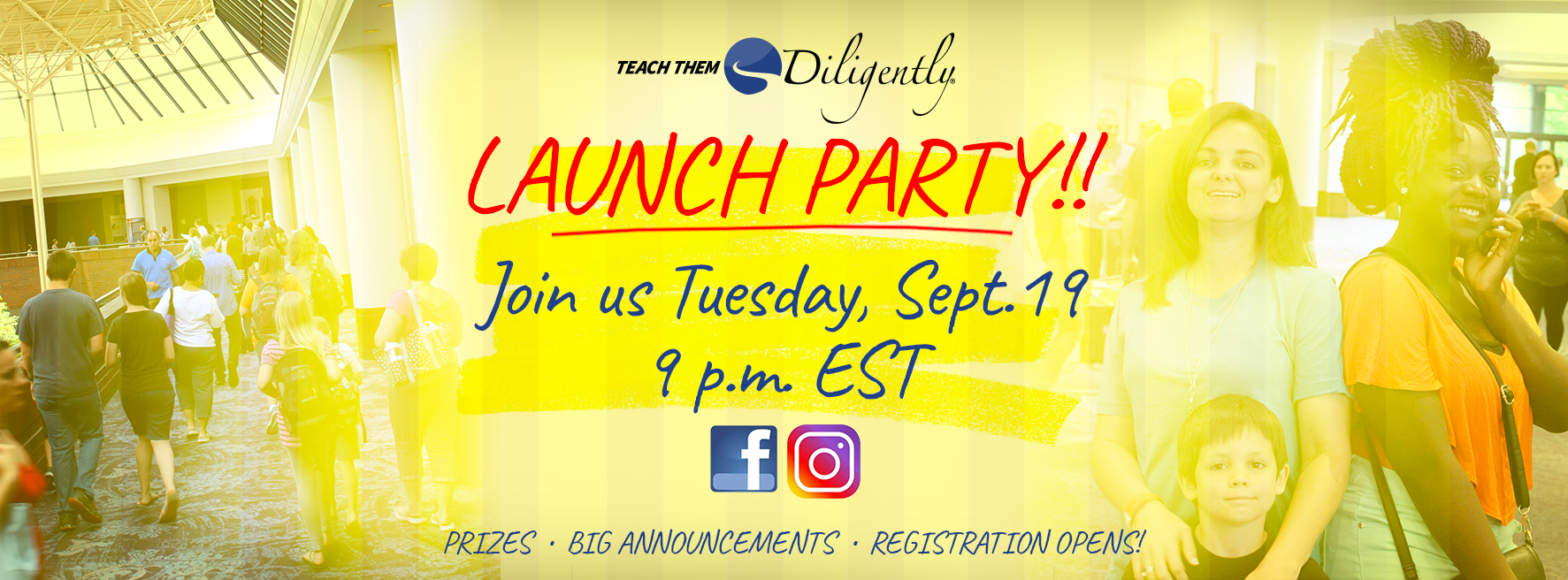 Teach Them Diligently 2018 Launch Party