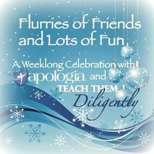 Flurries of Fun Teach Them Diligently Homeschool Convention and Apologia Week Long Party