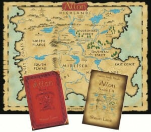 Allon Map and Books