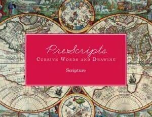 PreScriptsWordsDrawingScripture Classical Conversations