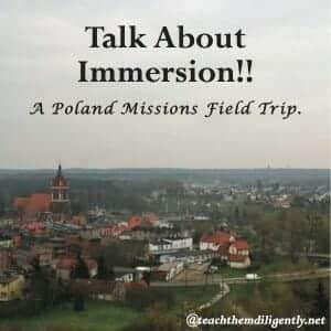 Homeschool Missions Field Trip