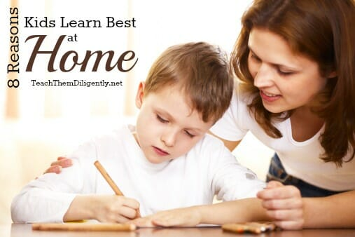 Kids Learn Best At Home