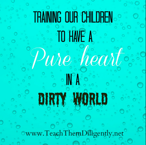 Teaching Children to Have a Pure Heart