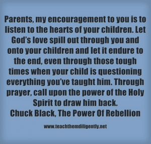 A heart of Rebellion Chuck Black,Teach Them Diligently Convention