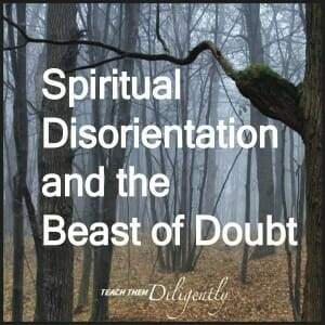 Spiritual Disorientation and the Beast Of Doubt