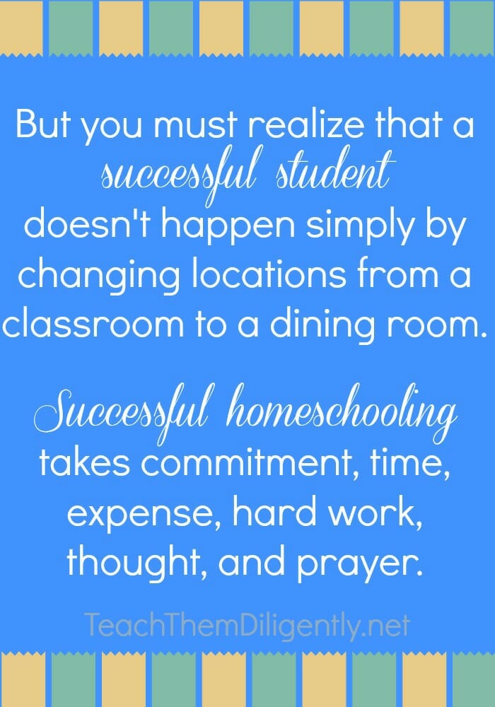 It Takes Dedication And Hard Work To Constantly Improve: The Key To Getting Started In Homeschooling
