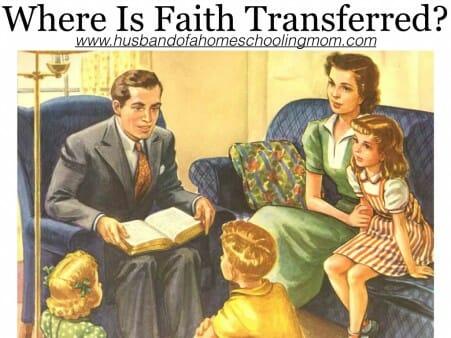 Where Is Faith Transferred?