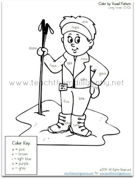 Coloring Pages For Vowels : Free coloring pages of vowels
