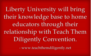 Liberty University Knowledge Base To Help Teach Them Diligently Teens