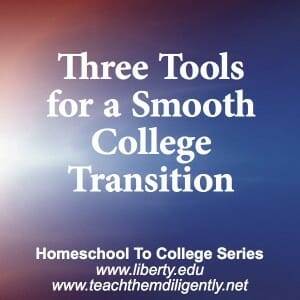 Three Tools For College Transition
