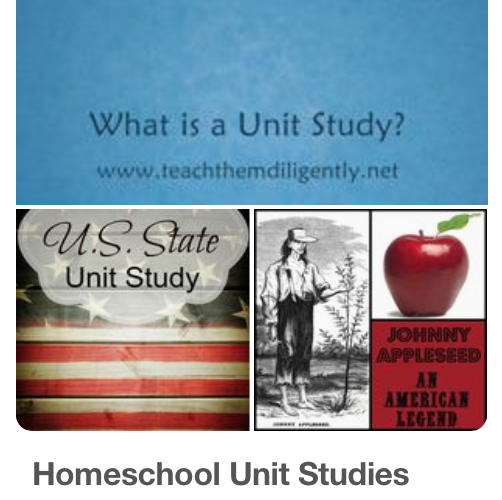 Getting Started Homeschooling: Unit Studies