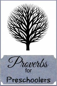 Proverbs for Preschoolers: Worry: Blessings