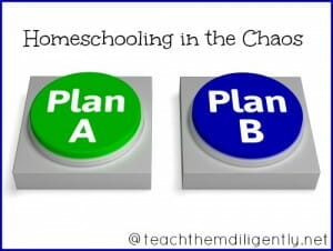 Homeschooling in the Chaos