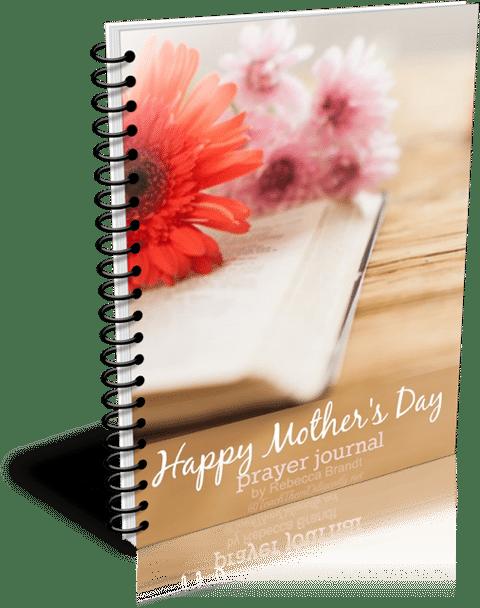 Mothers Day Prayer Journal