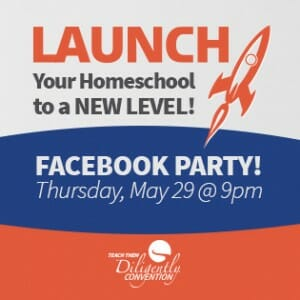Launch Your Homeschool To A New Level Facebook Party
