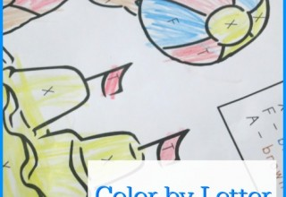 FREE Color by Letter Alphabet Pack