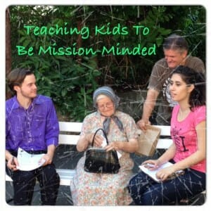 Teaching Kids about Missions