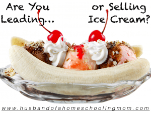 Leading or Selling Ice Cream?