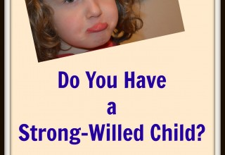 Do You Have a Strong-Willed Child?