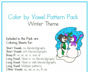 Winter Theme Coloring