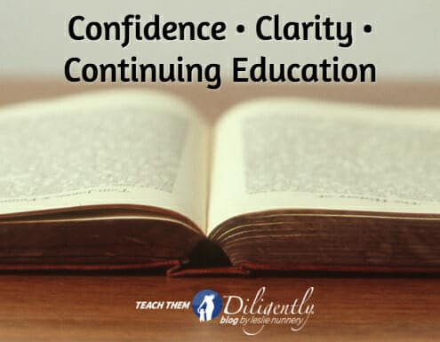 Confidence • Clarity • Continuing Education: All Can Be Gained At A Homeschool Convention