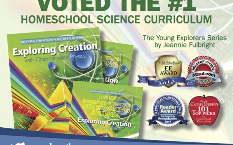 Midweek Giveaway!! WIN Jeannie Fulbright's Exploring Creation with Chemistry and Physics