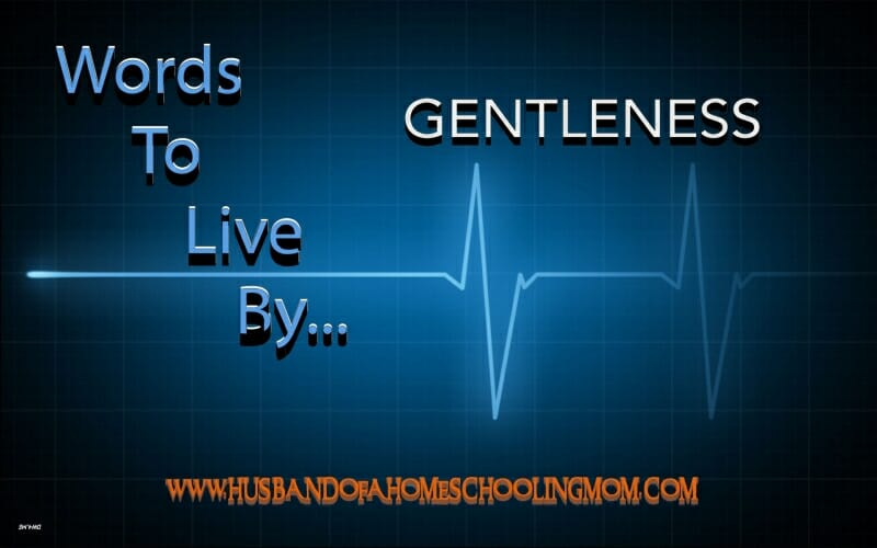 Words to Live By…Gentleness