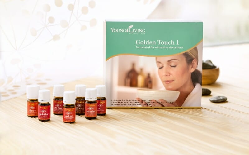 GIVEAWAY TODAY!! Win Golden Touch Young LIving Essential Oils Collection!!