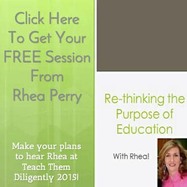 Re-Thinking The Purpose of Education– Free Workshop from Rhea Perry of Educating For Success!