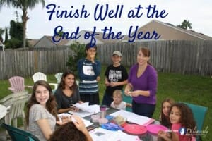 Finish Well at the End of the Year