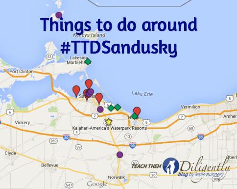 Things to do around Teach Them Diligently Sandusky