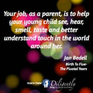 Your job as a parent