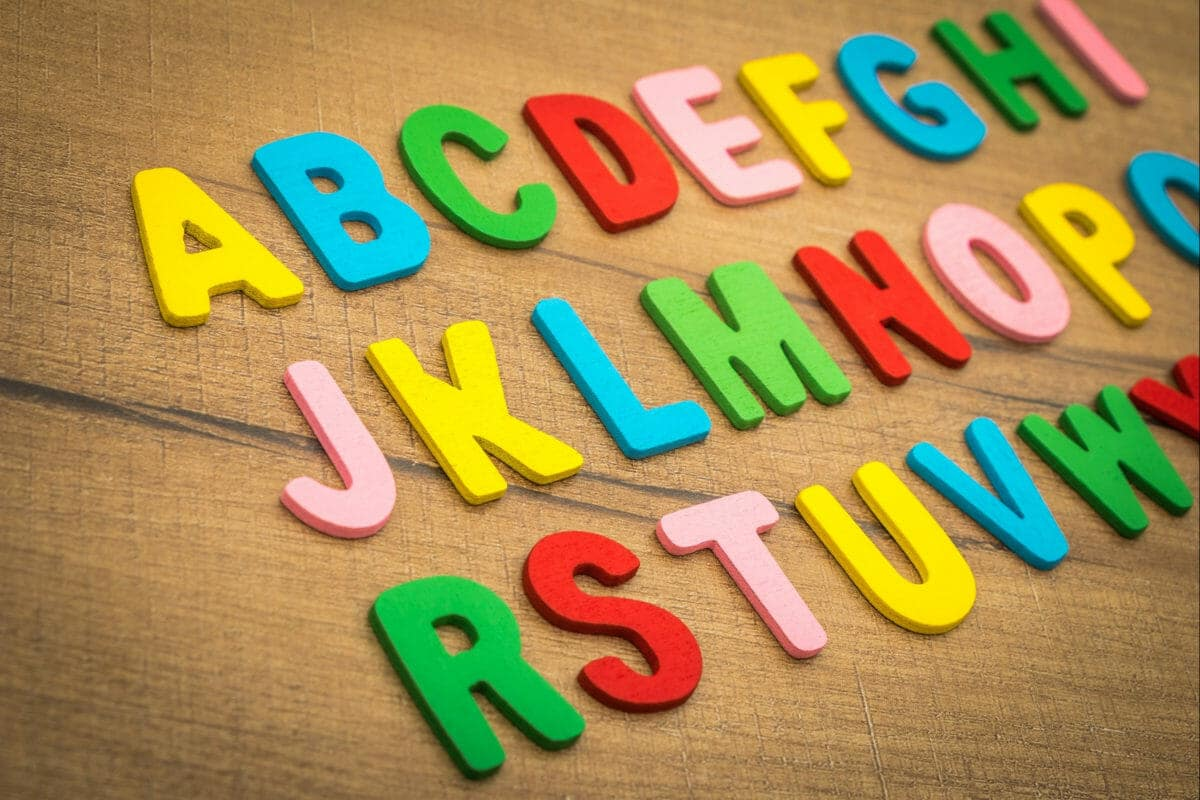 alphabet refrigerator magnets