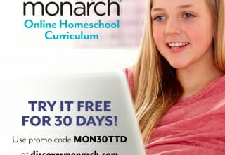 FREE Month of Monarch Online Homeschool!