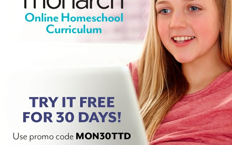 FREE Month of Monarch Online Homeschool!