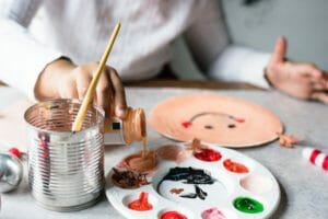 kid painting crafts