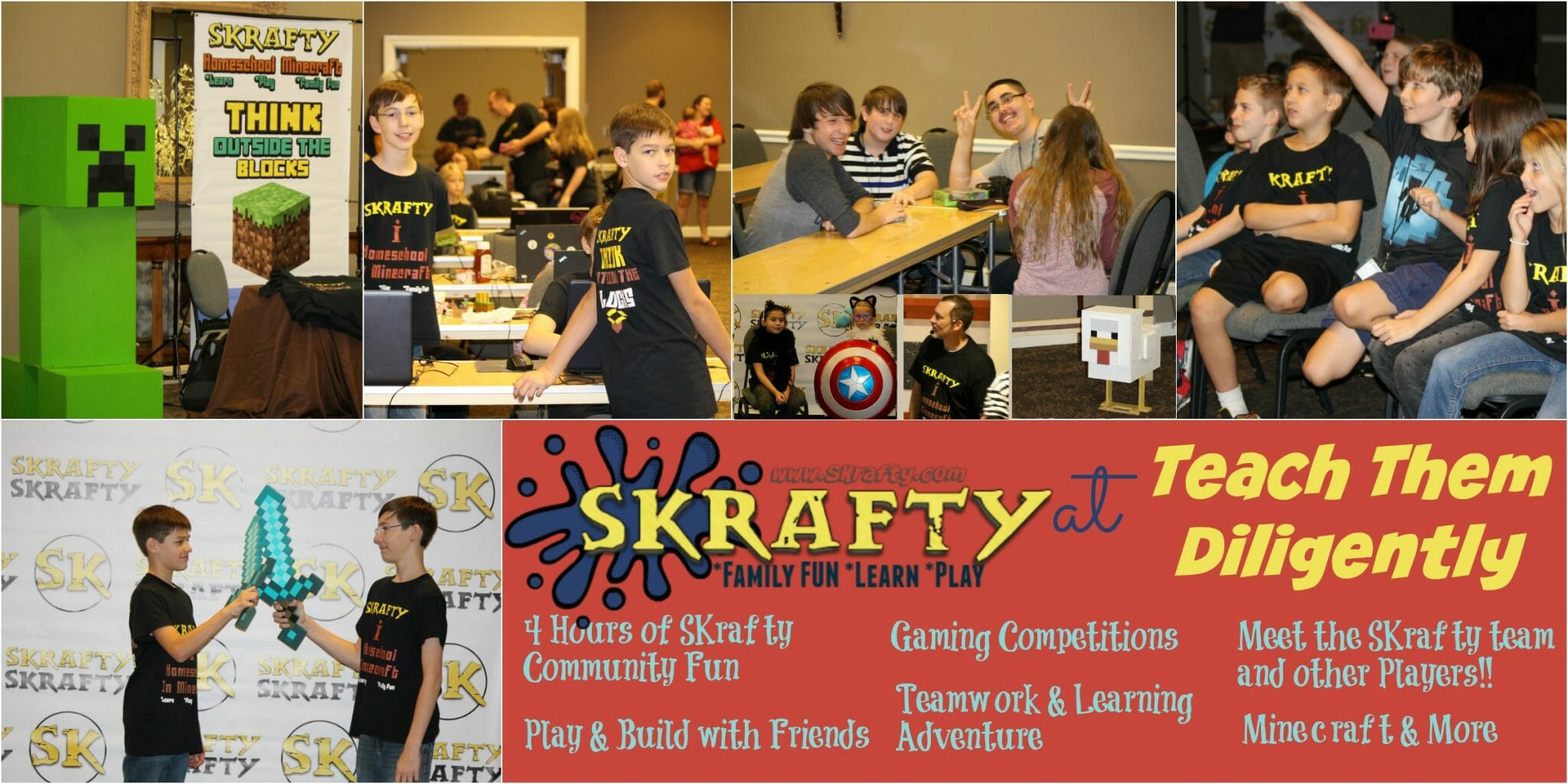SKrafty Live at Teach Them Diligently!