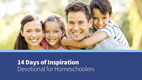 Homeschool Inspiration Devotional
