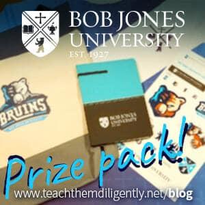 BJU Prize pack