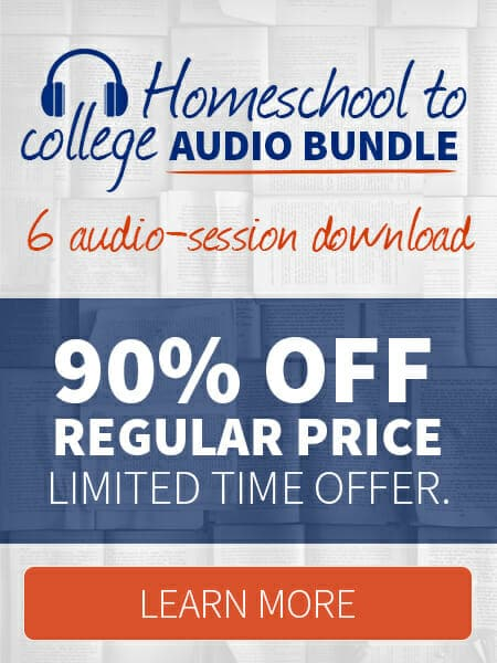 Homeschool to College Audio Bundle 1