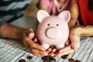 saving money teach children ECCU