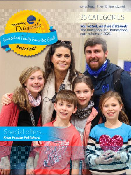 Homeschool Family Favorites 2021 Cover
