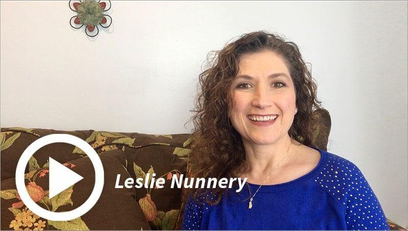 Leslie Nunnery Homeschool Leadership Video