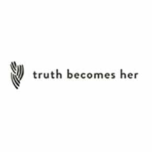 Truth Becomes Her logo