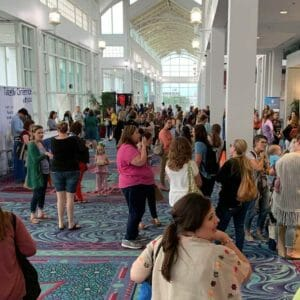 Homeschool Families at the Mobile Teach Them Diligently Convention