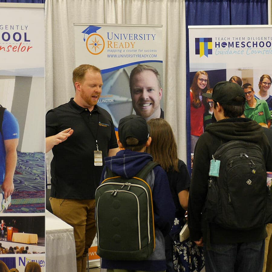 Exhibitor at the Teach Them Diligently Homeschool Convention
