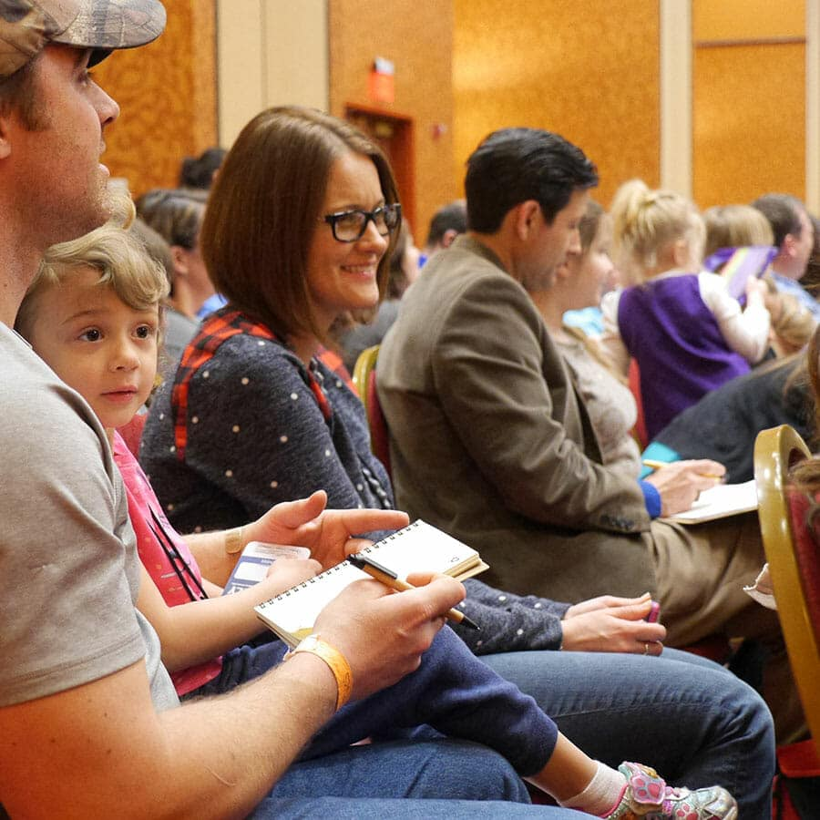 Homeschool Family at the Teach Them Diligently Convention