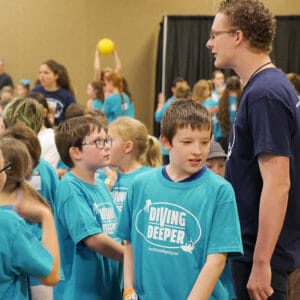 Homeschool Children at the Teach Them Diligently Convention