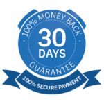 30 days money back guarantee/secure checkout emblem